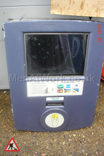Car Park Ticket Dispenser - Car park ticket dispenser (2)