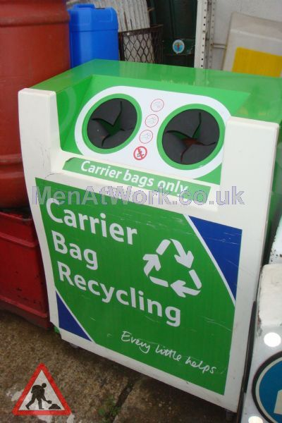 Carrier Bag Recycling Bin - Carrier Bag REcycling