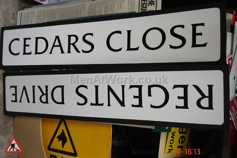 Street Names A-F - Cedars Close