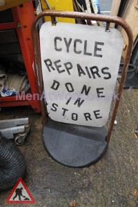 Cycle Repairs Sign - Cycle Repairs