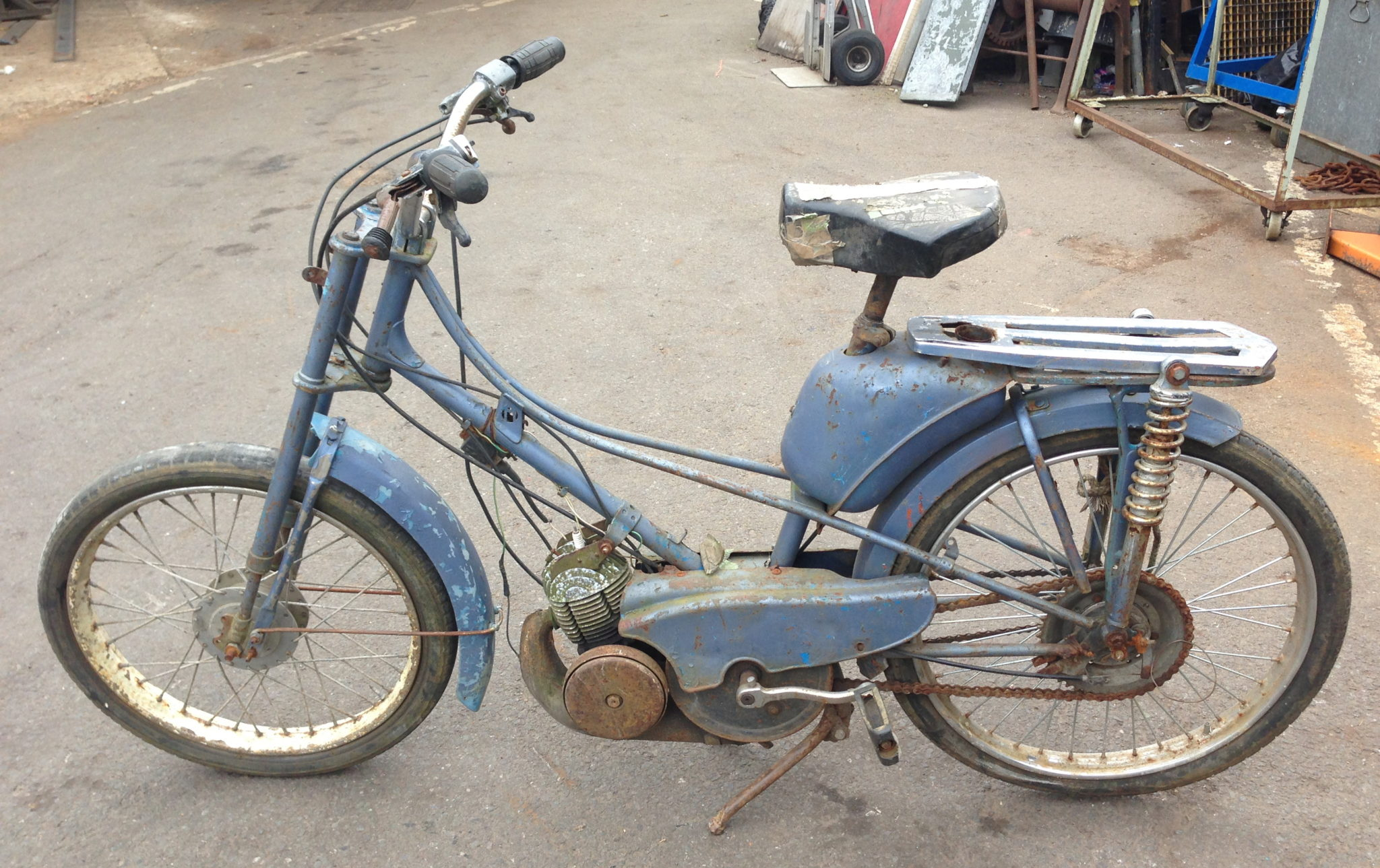 Indian Motorbikes Mopeds 2 Available - Moped