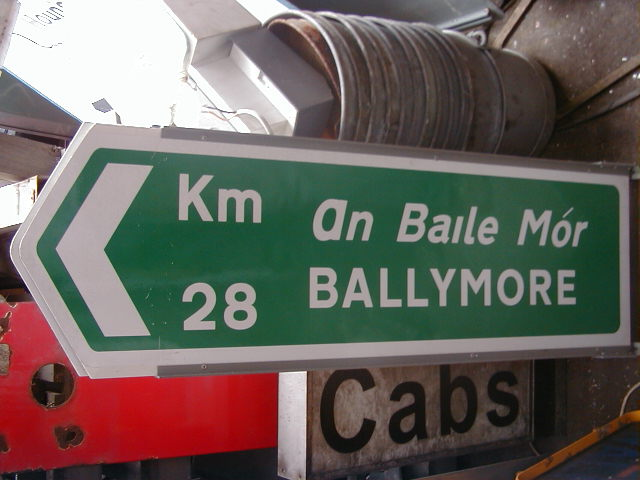 Irish Road Signs - Irish Road Signs (3)