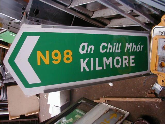Irish Road Signs - Irish Road Signs