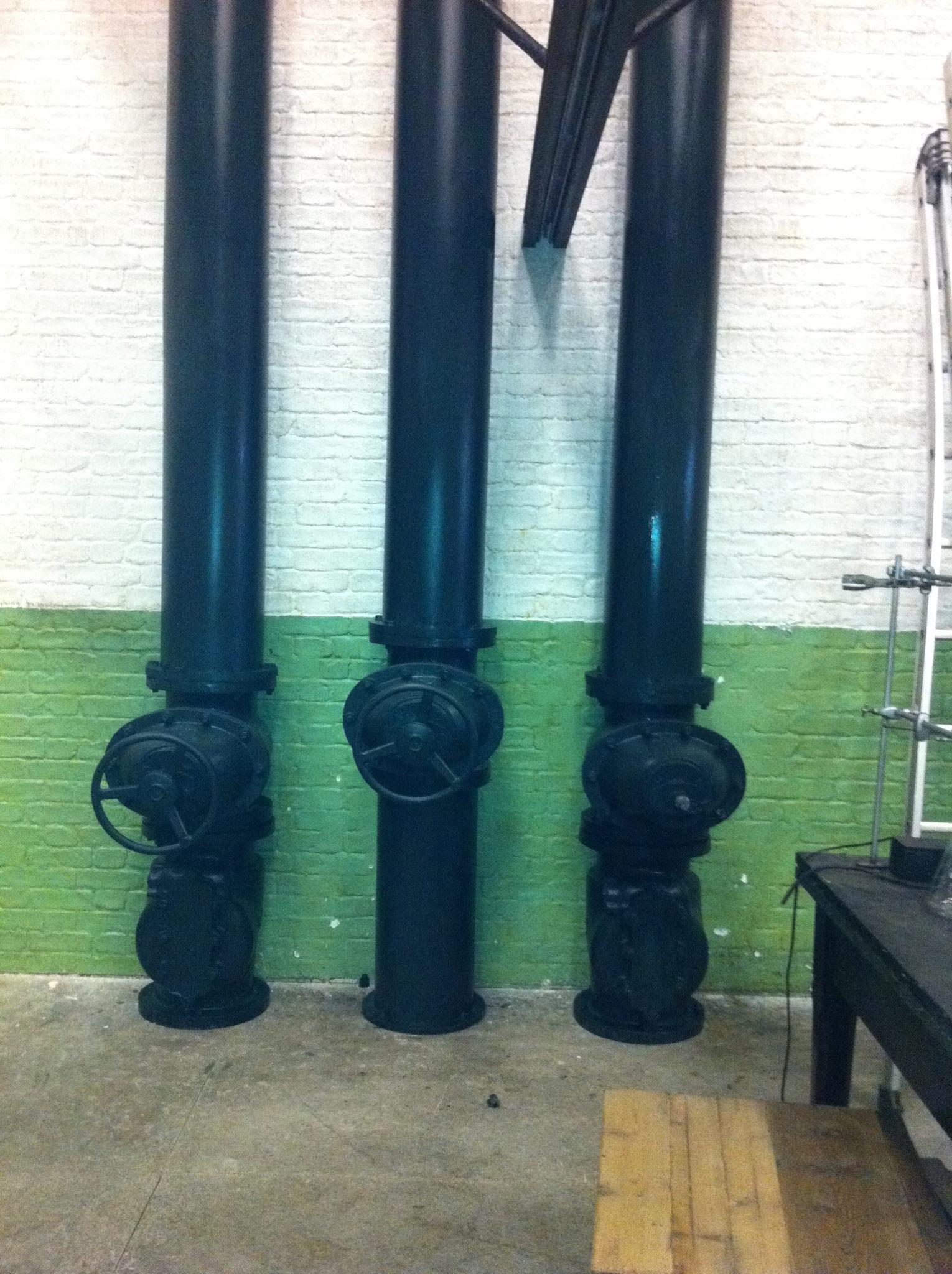 Large Black Pipes - Large Black Pipes