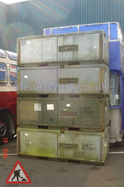 Large Transit Cases - Large Transit Containers 4 off