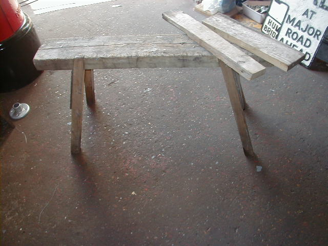 Saw horse - Large saw horse A