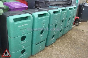 Layered Recycling Bins - Layered Recycling Bins