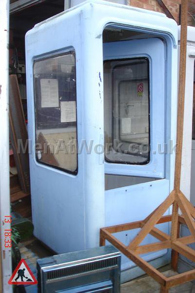 Security Huts - Light blue security hut2