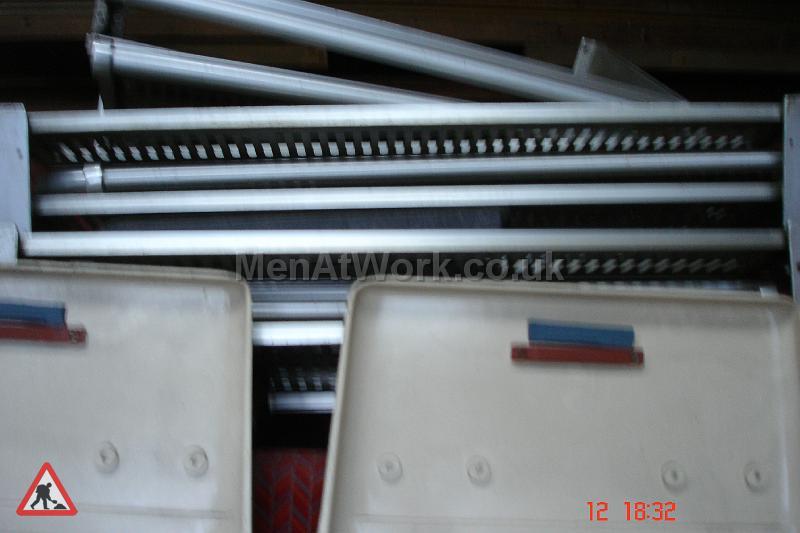 Men At Work Train Luggage Racks