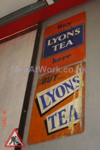Lyons Tea Sign - Lyons Tea