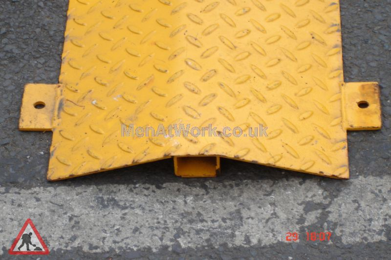 Metal Speed Bump - MSB Close Up