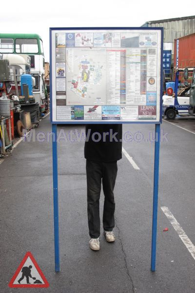 Map Sign Stand - Map Sign Stand