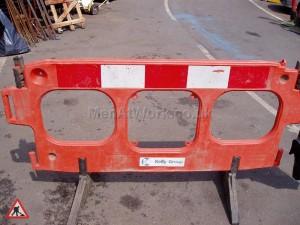 Traffic Barrier - Men at work
