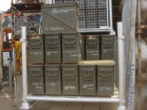 Metal Ammo Boxes - Metal Amo Boxes 200 Available