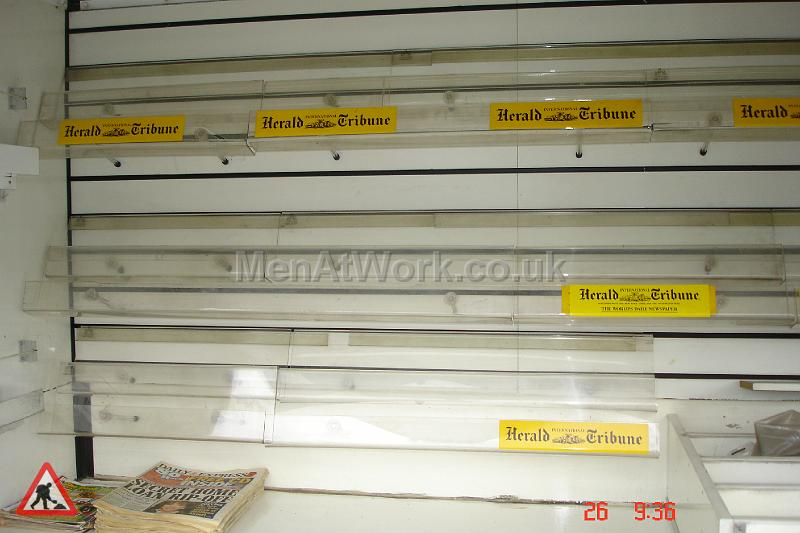 Newspaper Stall with Interior - Newspaper Stall with interior (5)
