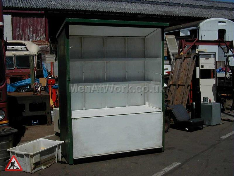 Green Newspaper Stand - Newspaper-stand1
