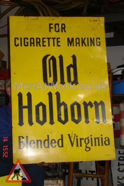 Old Holborn Sign - Old Holborn Cigarette