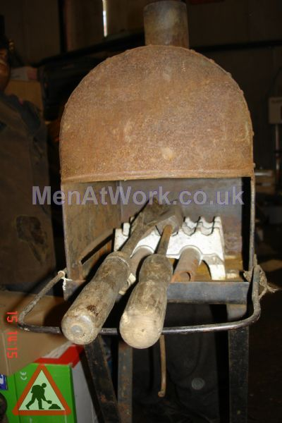 Old soldering stove - Old soldring stove
