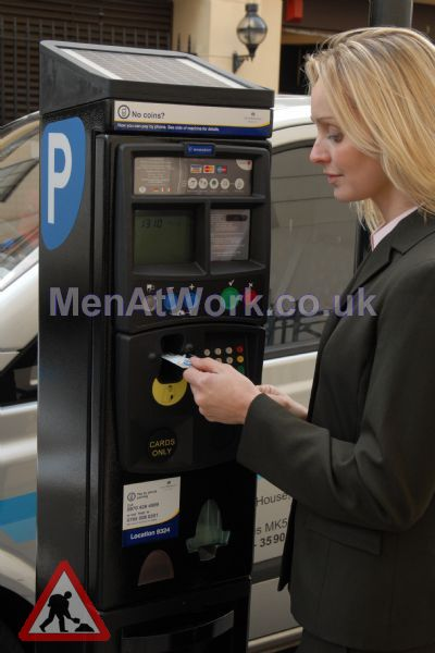Parkeon Ticket Machines - One of the Parkeon Strada credit card-only Pay and Display terminals installed in London for Westminster City Council.jpg