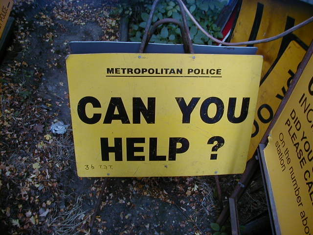 Police Accident Sign – Can you help - POLICE INCIDENT SIGN 2B
