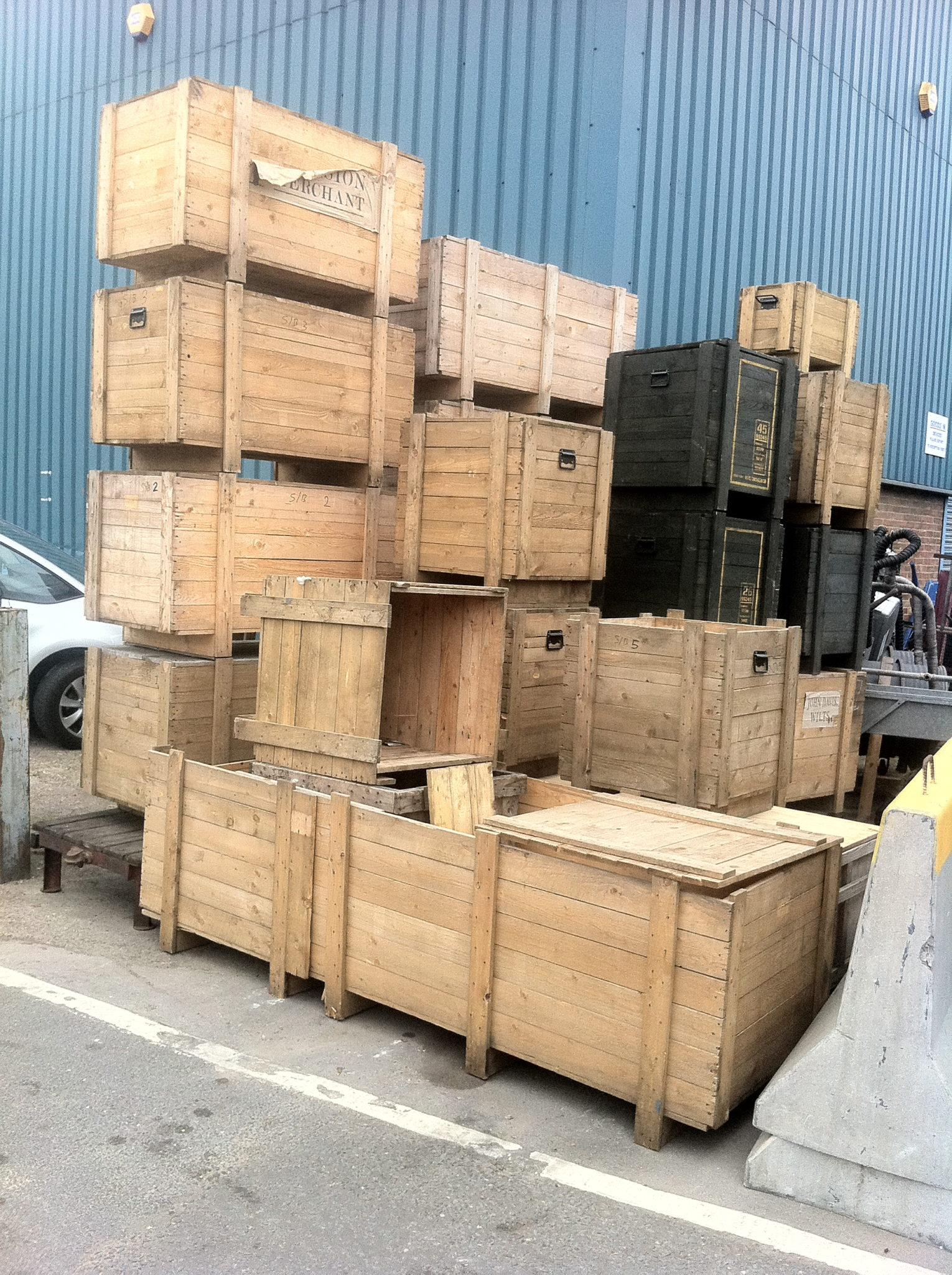 Packing Crates - Wooden Packing Crates