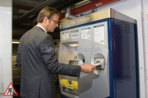Parkeon Ticket Machines - Parkeon Varioflex Pay-on-Foot pay station for NCP