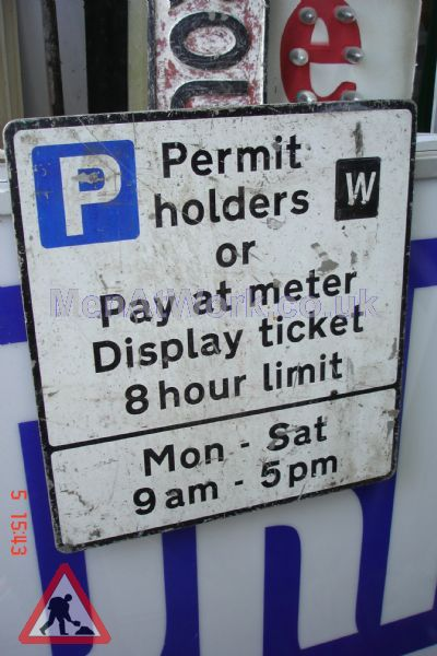 Parking Signs and Pay & Display - Parking Signs and Pay and Display (34)
