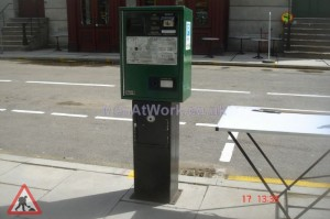 Car Parking Ticket Machine – Green - Pay and Display Green