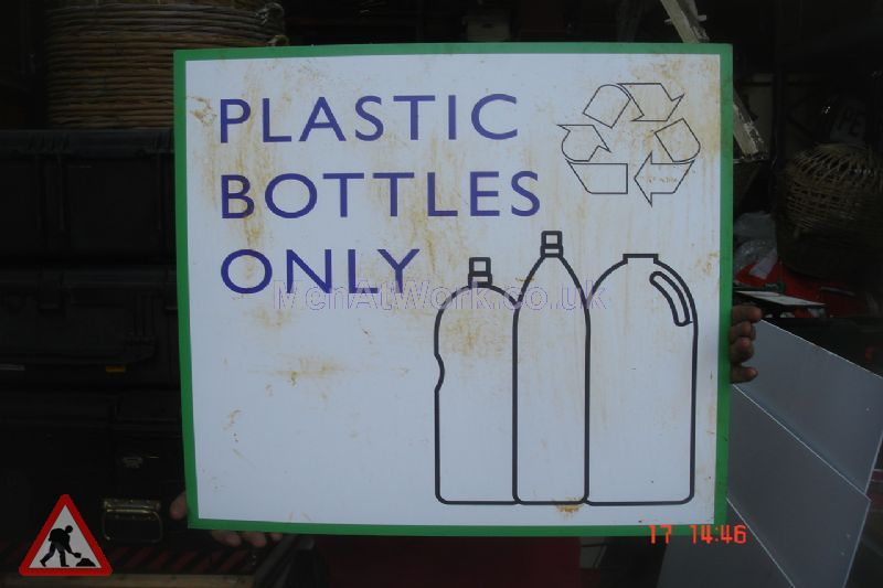 Recycling Centre Signs - Plastic Bottles Only