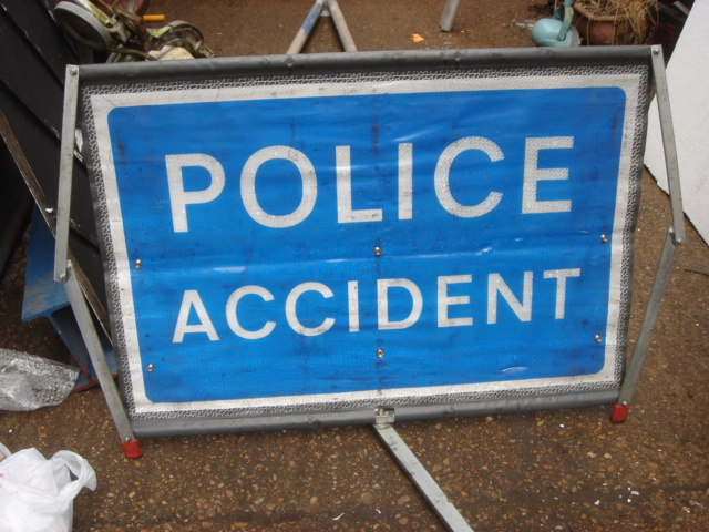 Police – Accident Signs - Police Sign 4b