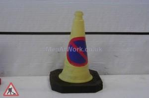 Police Cone Black Base - Police cone 2