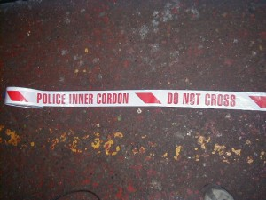 Police Cordon – Do Not Cross Tape - Police cordon