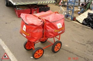 Postman Trolley - Post Trolley