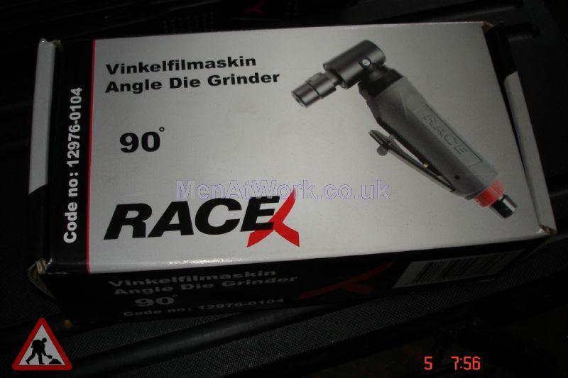 Race mechanic tools - Race Mechanic Angle Grinder