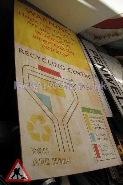 Recycling Center Signs - Recycling Centre Sign (2)