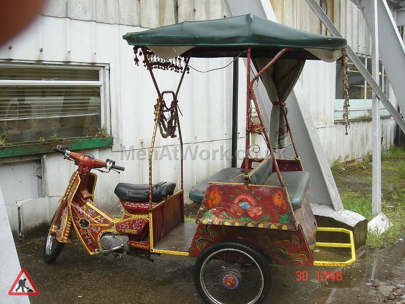 Rickshaw - Rickshaw – Sideview