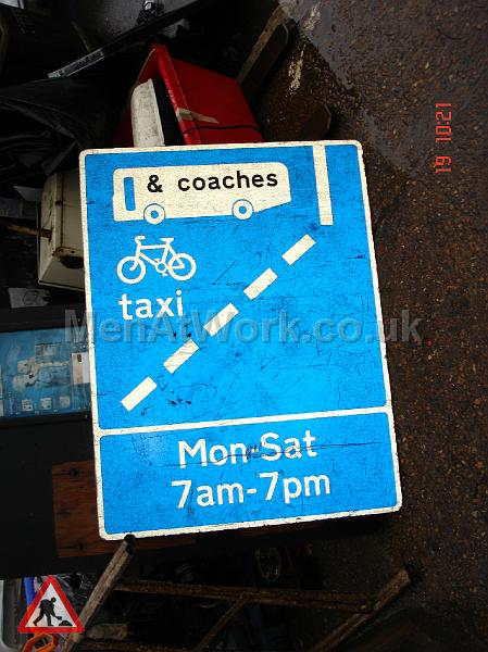 Road Signs - Road Signs – Blue (3)