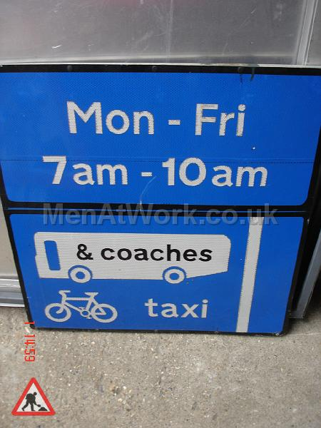 Road Signs - Road Signs – Blue (4)