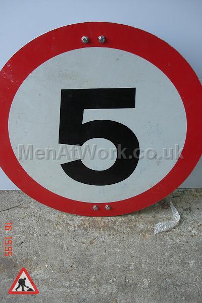 Road Signs – Circle Various - Road Signs – Circle (6)