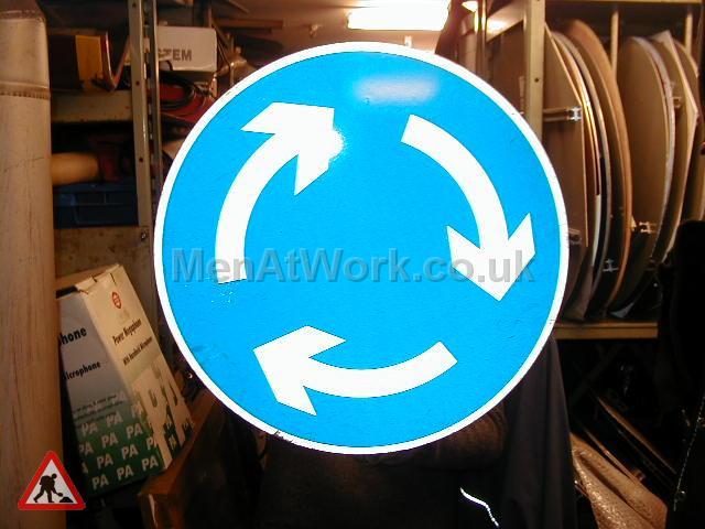 Road Signs – Circle Various - Road Signs – Circle