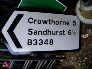 Road Signs – Directions - Road Signs – Direction Places (5)