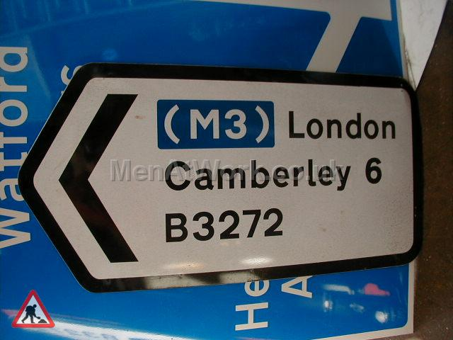Road Signs – Directions - Road Signs – Direction Places (9)