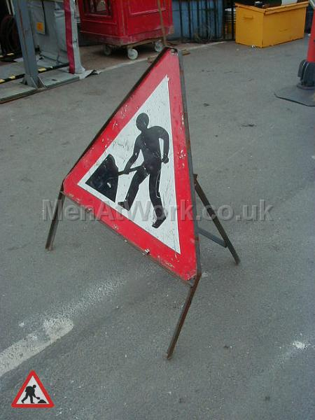 Road signs - Road work sign