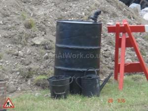 Period Tar boilers & sprayers - Road works-period dressing2