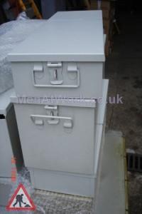 Safe Deposit Box – Grey - Safe Deposit Box – 2 Sizes