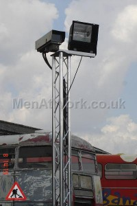 Security Camera on trilite frame - Security camera on trilite (17)