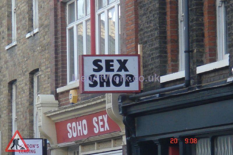 Sex Shop Sign - Sex Shop