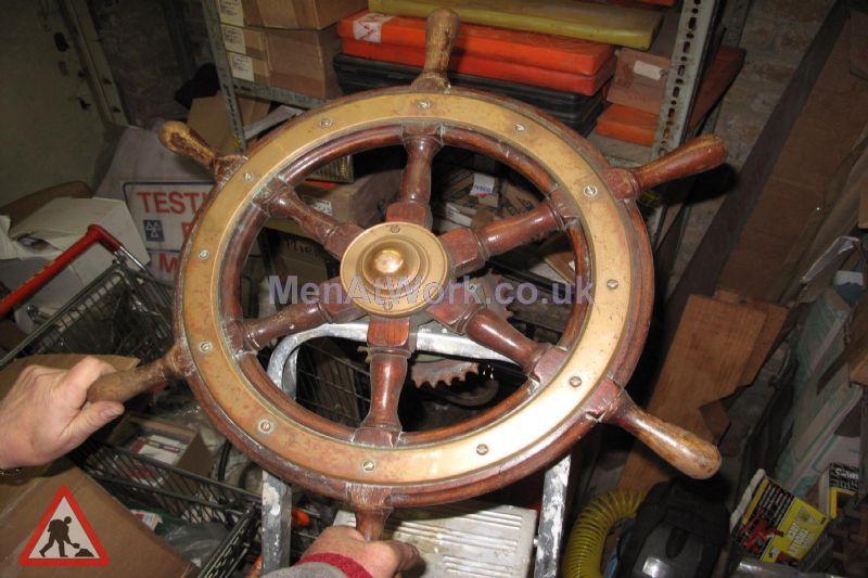 Ship Steering Wheel - Ship Steering Wheel (2)