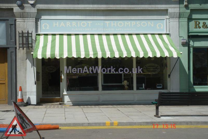 Shop Front Dressing – Pinewood - Shopfront at Pinewood