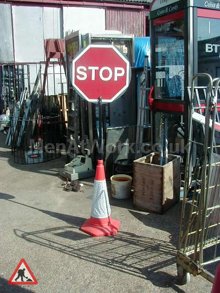 Road signs - Stop sign